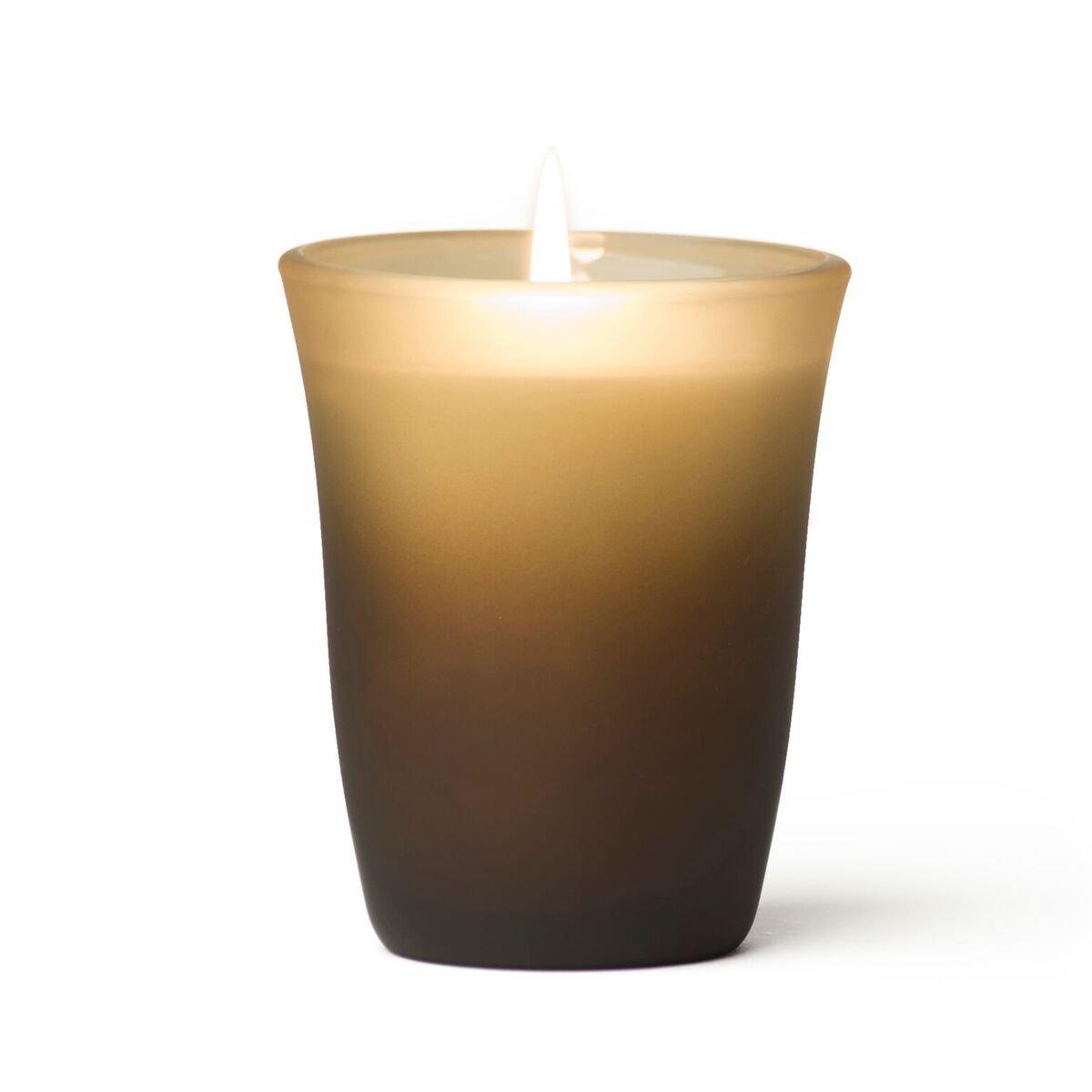 rareEARTH 818535015198 Colored Glass Spa Meditation Candle