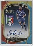 Gianluca Zambrotta #30/30 (Trading Card) 2016-17 Panini Select - Historic Signatures - Tie-Dye Prizm #HS-GZ
