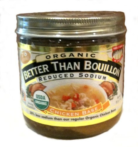 Better Than Bouillon Organic Chicken Base, Reduced Sodium...