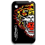 Ed Hardy Skin Cover iPhone 3G & 3GS Tiger Black 814111010373