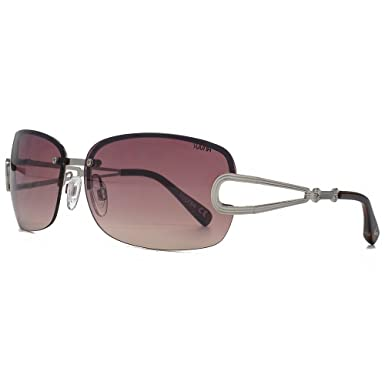 61f6ab65ddb SUUNA Bella Large Semi Rimless Sunglasses in Shiny Silver SUU114   Amazon.co.uk  Clothing