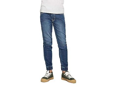 Pepe Jeans Pantalón Vaquero Sprinter GK9 Azul: Amazon.es ...