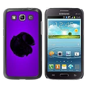 TECHCASE**Cubierta de la caja de protección la piel dura para el ** Samsung Galaxy Win I8550 I8552 Grand Quattro ** Purple Heart