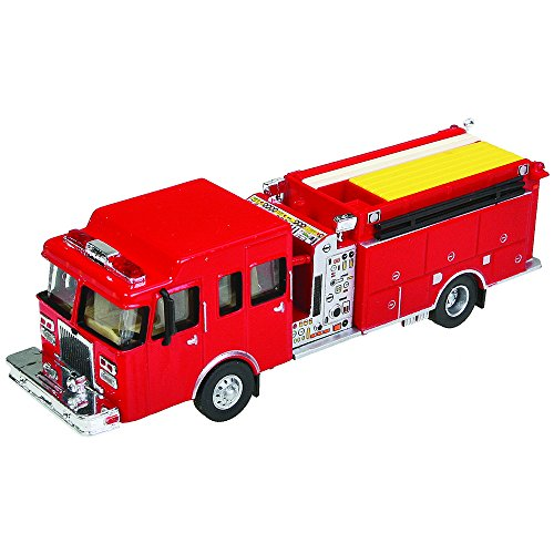 (Walthers SceneMaster Heavy-Duty Fire Engine)