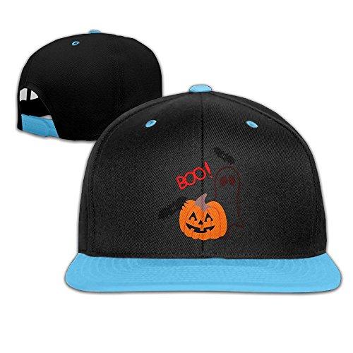 Nerd Halloween Makeup Costume (Halloween Boo Kids Boy's & Girl's Outdoor Hip Hop Visor Cotton Caps)