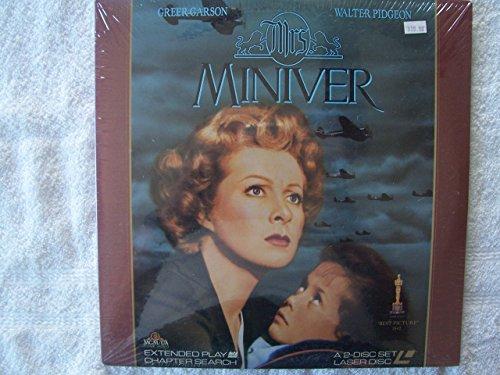 Mrs. Miniver Laser Disc (not a DVD)