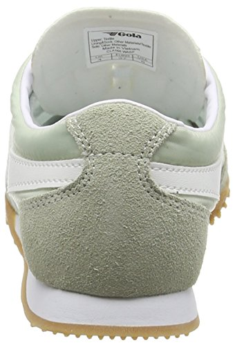 Gola Wasp, WoMen Low-Top Sneakers Green (Soft Meadow/White)