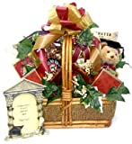 Attractive Oversized Basket, Filled with Rocky Road Chocolate Popcorn