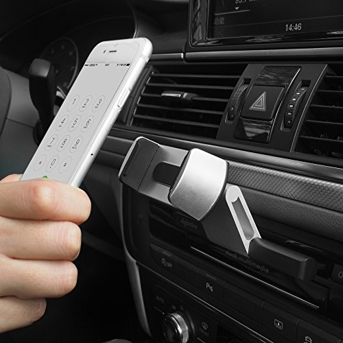 CALAP STORE - Universal CD Slot Car Mobile Phone Holder Air Vent Mount Cradle For All 4.7-6.0 Inch Phone For iPhone Samsung by CALAP STORE