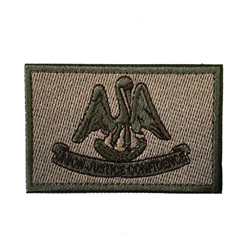 SpaceAuto State of Louisiana Flag Tactical Morale Patch Coyo
