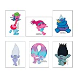 SmileMakers DreamWorks Trolls Movie Temporary Tattoos - Prizes 144 per Pack - from