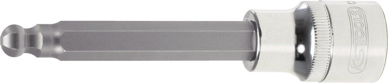 KS Tools 918.1778 1//2 CHROMEplus Bit-Stecknuss Innensechskant,Kugelkopf,lang,17mm