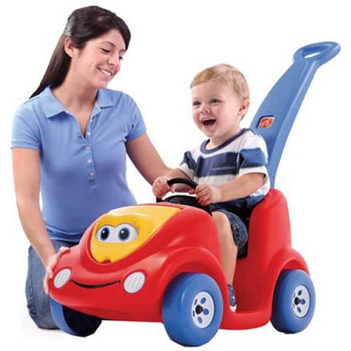 Step2 Push Around Buggy Toddler Push Car, 10th Anniversary Edition, Red ()