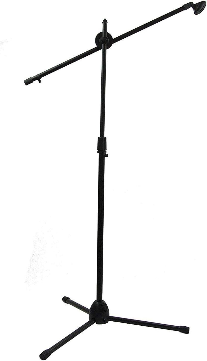 BUYMORE Soporte de Microfono Jirafa Pie Micro Tripode Plegable ...