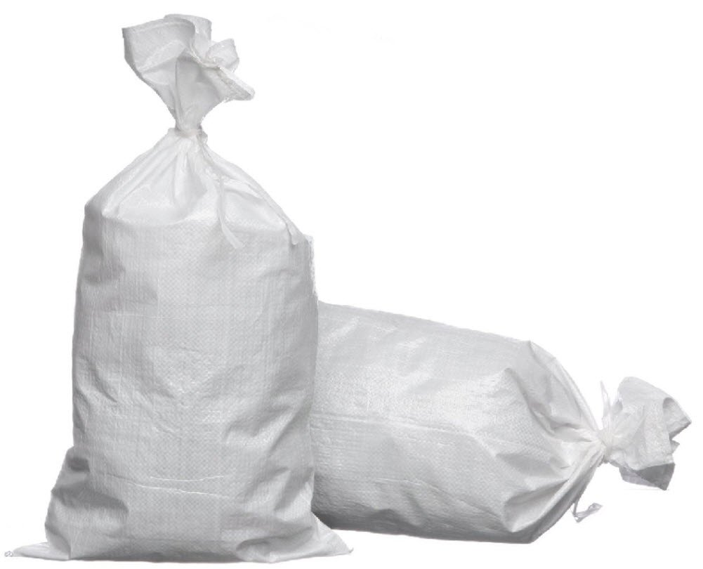 Joe's USA eSandbags - Empty Polypropylene Sandbag with Tie (25 eSandbags) by Joe's USA