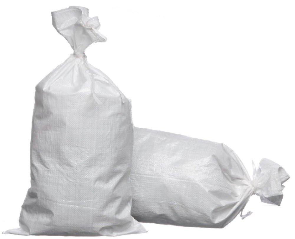 Joe's USA eSandbags - Empty Polypropylene Sandbag with Tie (100 eSandbags) by Joe's USA (Image #1)