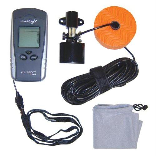 HawkEye Portable Fish Finder w/WeedID® Fish Finders And Other Electronics HAWKEYE