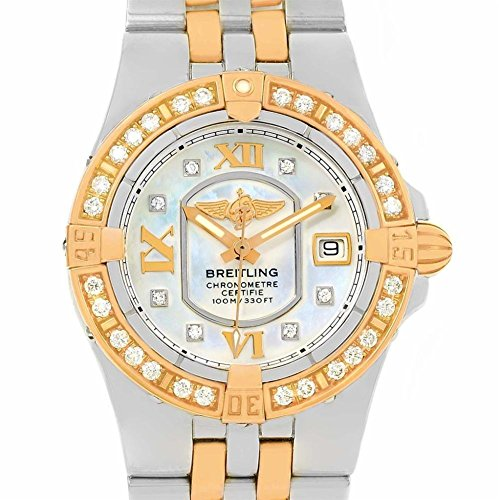 Breitling Windrider quartz womens Watch C71340 (Certified Pre-owned)
