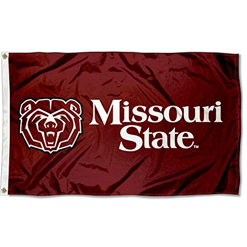 Missouri State Bears University Large College Flag