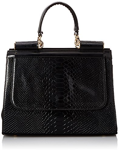 mg-collection-eilis-high-gloss-faux-crocodile-doctor-tote-purse-black-one-size