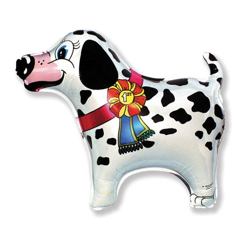 LA Balloons Foil Balloon 901564 SUPER DALMATIAN 27 Multicolored