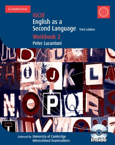 Cambridge IGCSE English as a Second Language Workbook 2 with Audio CD (Cambridge International IGCSE)