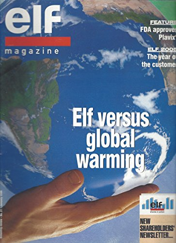 elf-magazine-elf-versus-global-warming-no-31-january-1998-feature-fda-approves-plavix-elf-2005-the-y