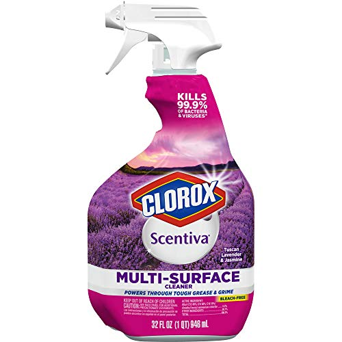 Paradise Kitchen (Clorox Scentiva Multi-Surface Cleaner -  Tuscan Lavender and Jasmine, 32 Ounce Spray Bottle, 6 Bottles/Case (31387))