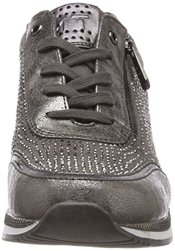 2 23713 Sneakers 31 grey Femme Basses Tozzi dk Gris 2 Marco 225 Comb 225 YRxSEwtq