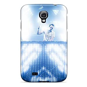 Durable Cell-phone Hard Cover For Samsung Galaxy S4 With Custom Realistic Tiesto Pattern KerryParsons