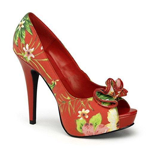 Pinup Couture Lolita-11 - sexy florale talon hauts chaussures femmes retro plateau escarpins 35-42
