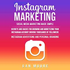 Need to grow your social media? Do you want to learn how to market your Instagram account and build brand awareness?  Don't worry, this book is here to help you learn exactly that, and more. Are you asking yourself how? It's simpler than you ...