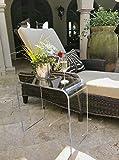 southeastflorida Acrylic End Table 21″ long x 12 wide x 21″ high x 1/2 thick