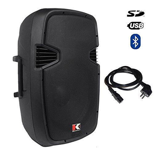 Kohlt KAMS 15A Powered Speaker 2500W PRO DJ Amplified Lou...