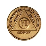 7 Year Bronze AA %28Alcoholics Anonymous