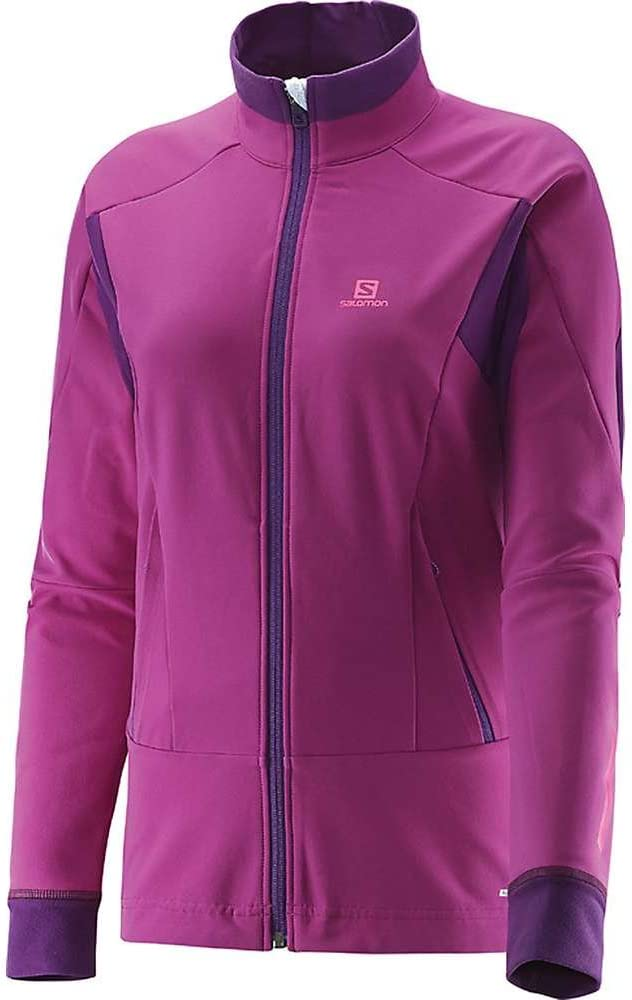 Salomon Women's Momentum Soft Shell Jacket