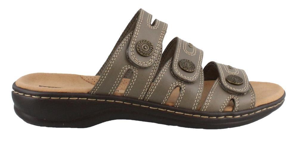 CLARKS Leisa Lakia Women's Sandal B0788YQ355 6 W US|Sage