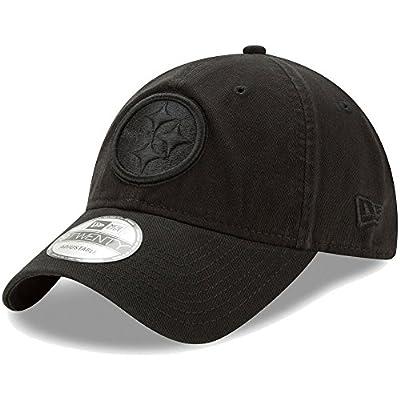 Pittsburgh Steelers Black on Black 9TWENTY Adjustable Hat / Cap from New Era