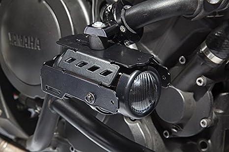 Faros universales antiniebla Hella con soportes para defensas de motor: Amazon.es: Coche y moto