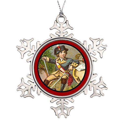 - Vintage Patriotic_Soldier_ Tree Branch Decoration Images Of Christmas Decorations Christmas Snowflake Ornaments