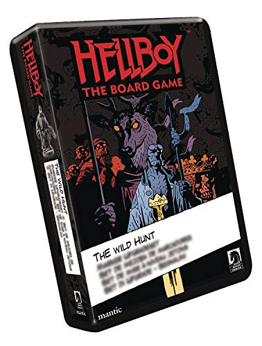 Mantic Games Hellboy Board Game Wild Hunt Expansion from Mantic Games
