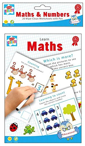 Kids Wipe Clean Educational Fun Learning Books Writing Spelling Maths Numbers
