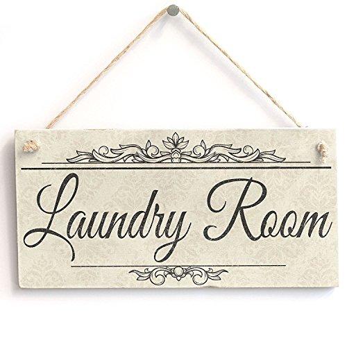 Meijiafei Laundry Room - Vintage PVC Sign / Plaque 10