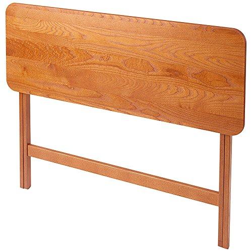 Manchester Wood Folding Buffet Table - Golden Oak