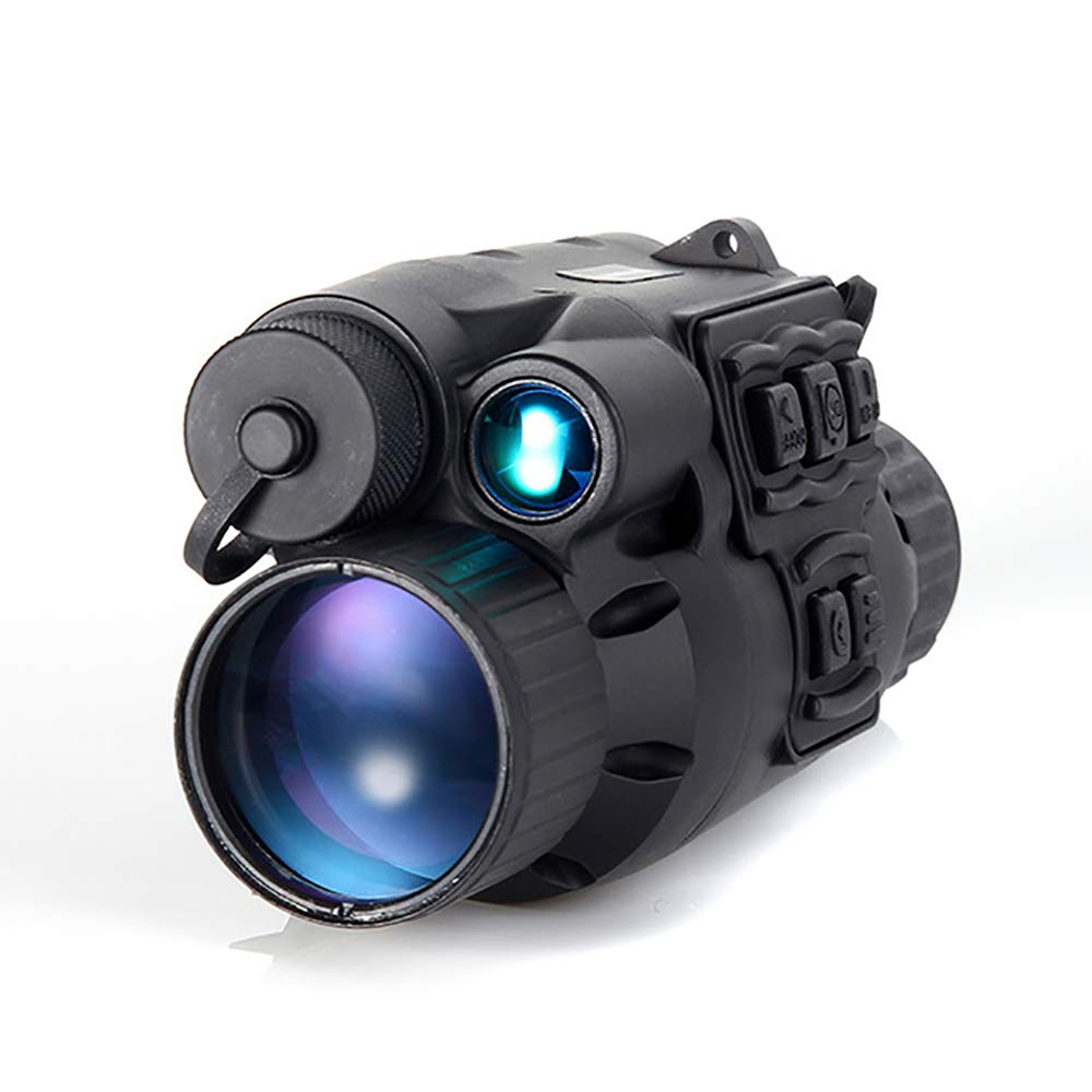 Zhengpin Digital Night Vision Monocular Infrared IR Night Vison Camera Scope 3X Zoom Magnification HD Telescope in The Dark for Wildlife Hunting Detection Observation by Zhengpin