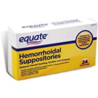 Equate Hemorrhoidal Suppositories 24 Ct