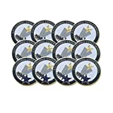 1 Inch Exceeding Expectations Lapel Pin - Package of 12, Poly Bagged