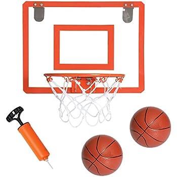Mini Basketball Hoop For Door 16 X 12 Inch Bedroom Basketball Hoop Indoors Set