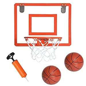 Amazon.com : Mini Basketball Hoop for Door - Bedroom Basketball ...