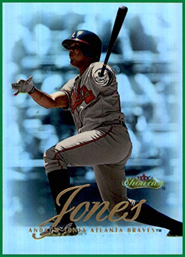 2000 Fleer Showcase #54 Andruw Jones ATLANTA BRAVES